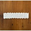 Bandeau en coton au crochet BRIGITTE