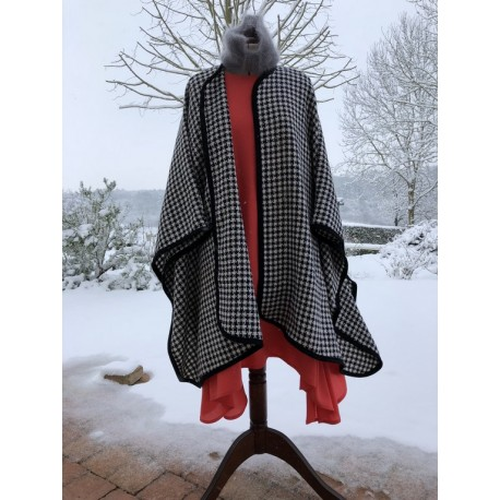 Poncho cape MARGOT